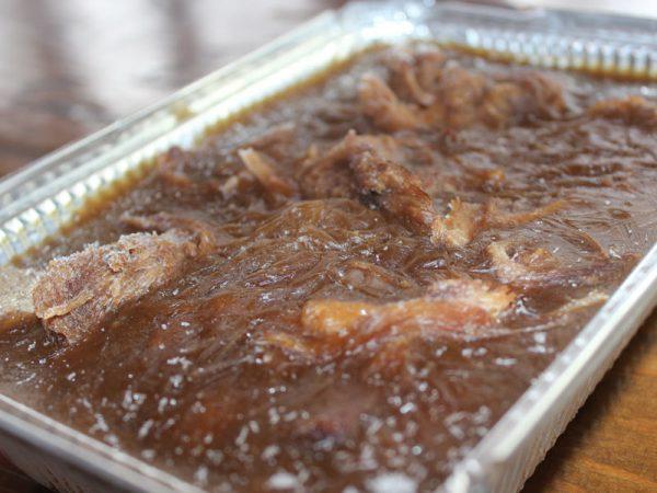 Ragoût de boulette et pattes - Brandy Creek